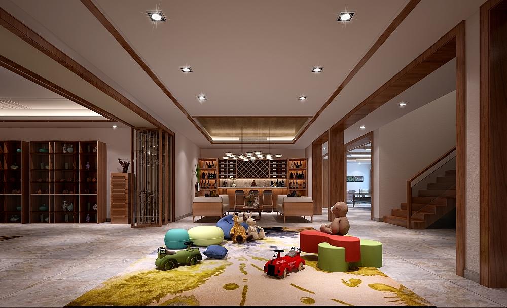 亲子活动区,给家长和孩子提供一个轻松愉快舒适的活动交流空间