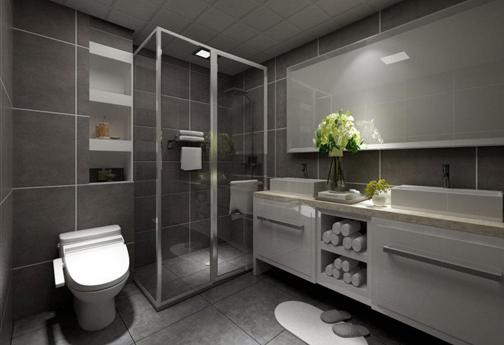 万科麓城-三室两厅一厨两卫125平-北欧风格