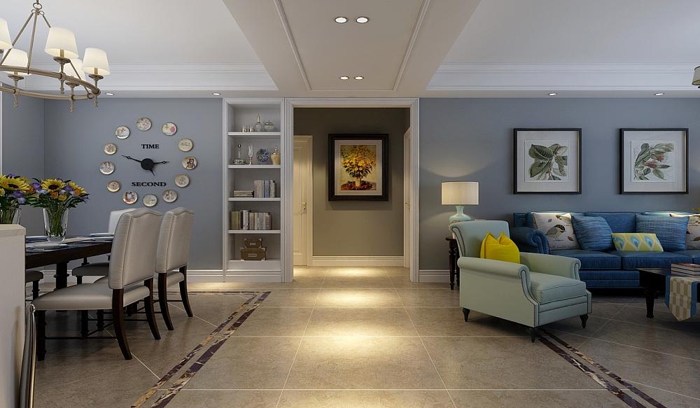 把客厅阳台定位为休闲阳台,让客厅空间延伸,在卧室里隔出一个生活阳台,满足使用功能,整体设计,简约时尚,不失细节把控,把简美风格尽情表现出来。